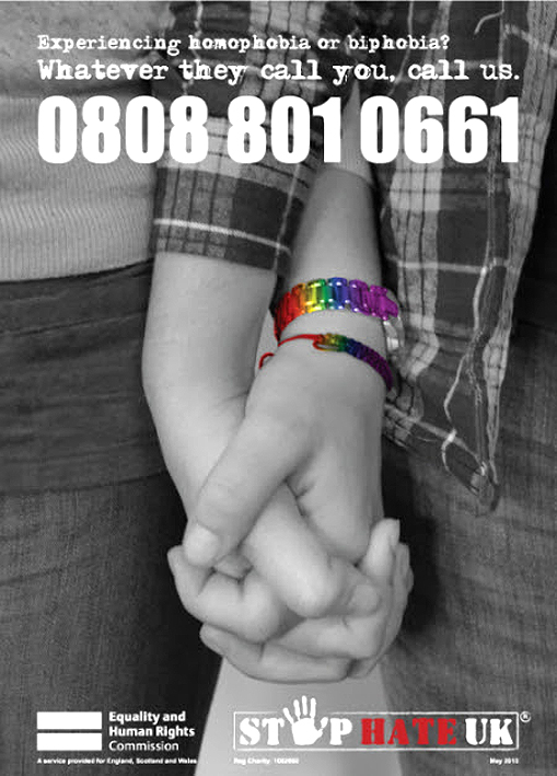 Stop Hate Crime number 0808 801 0661